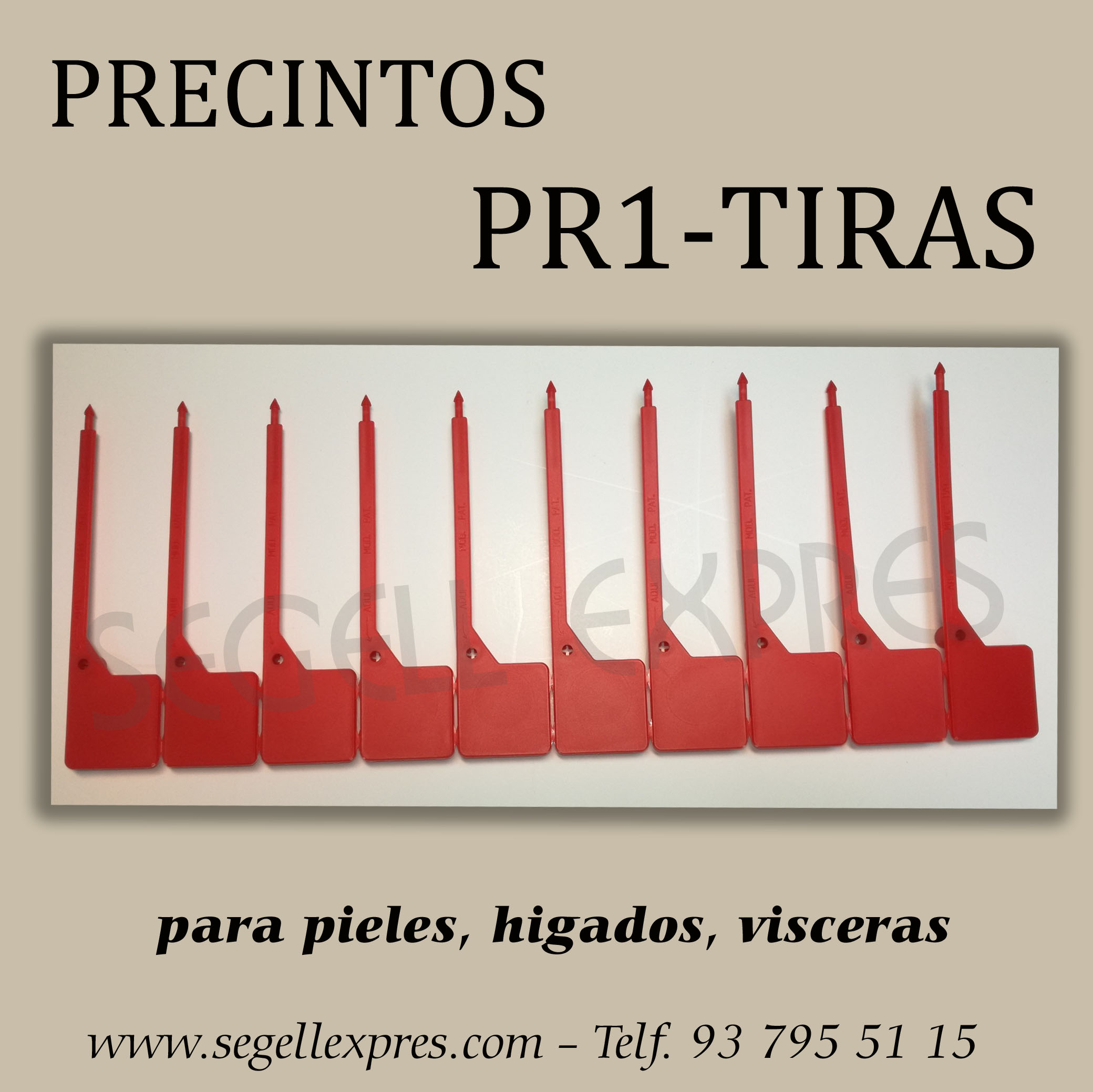 PRECINTO PR1-TIRAS