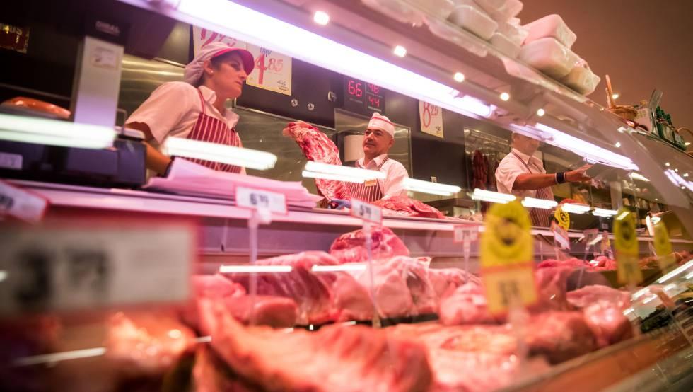 La producción de carne crece en España un 5,4% durante el primer trimestre del año