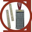 chinchetas, tampones, clips y crotales para uso alimentario