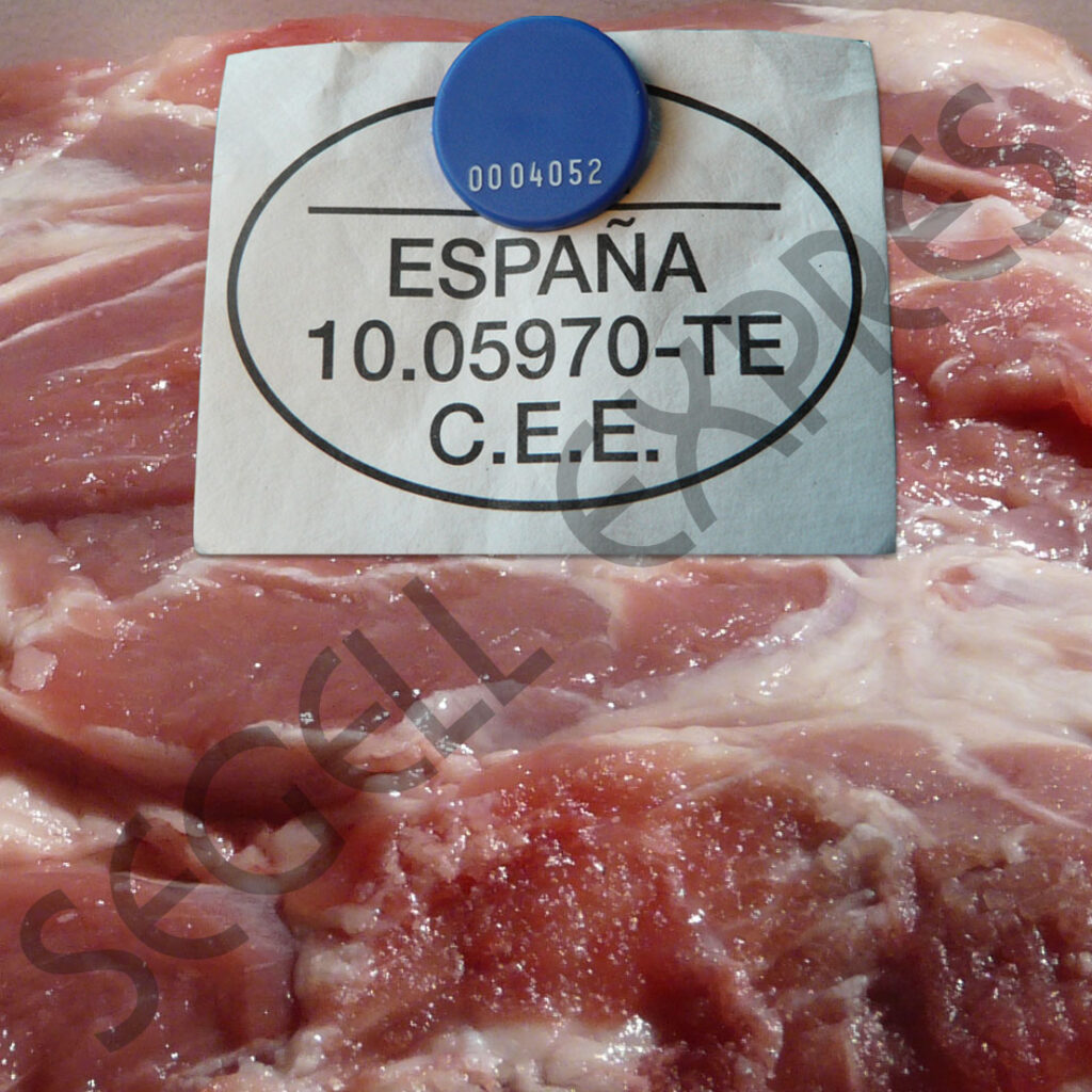 Chicnheta para marcar carnes